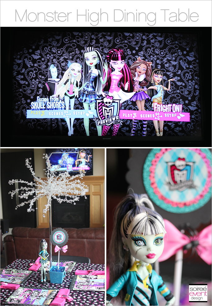 Monster High Dining Table Main