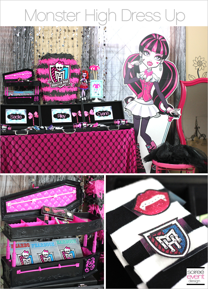 Monster High Dress Up Table Main
