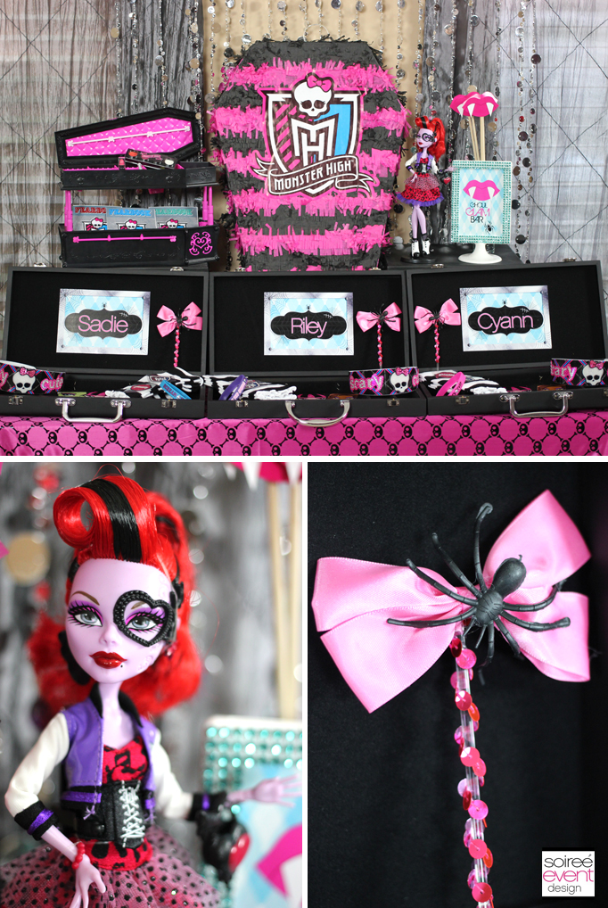 Monster High Dress Up Table