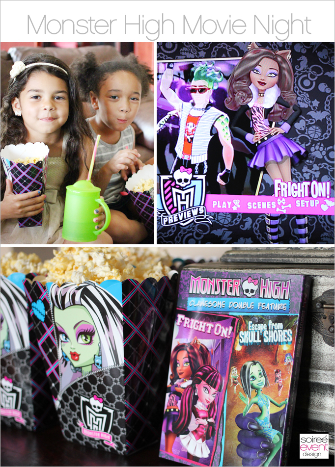 Monster High Movie Night Main