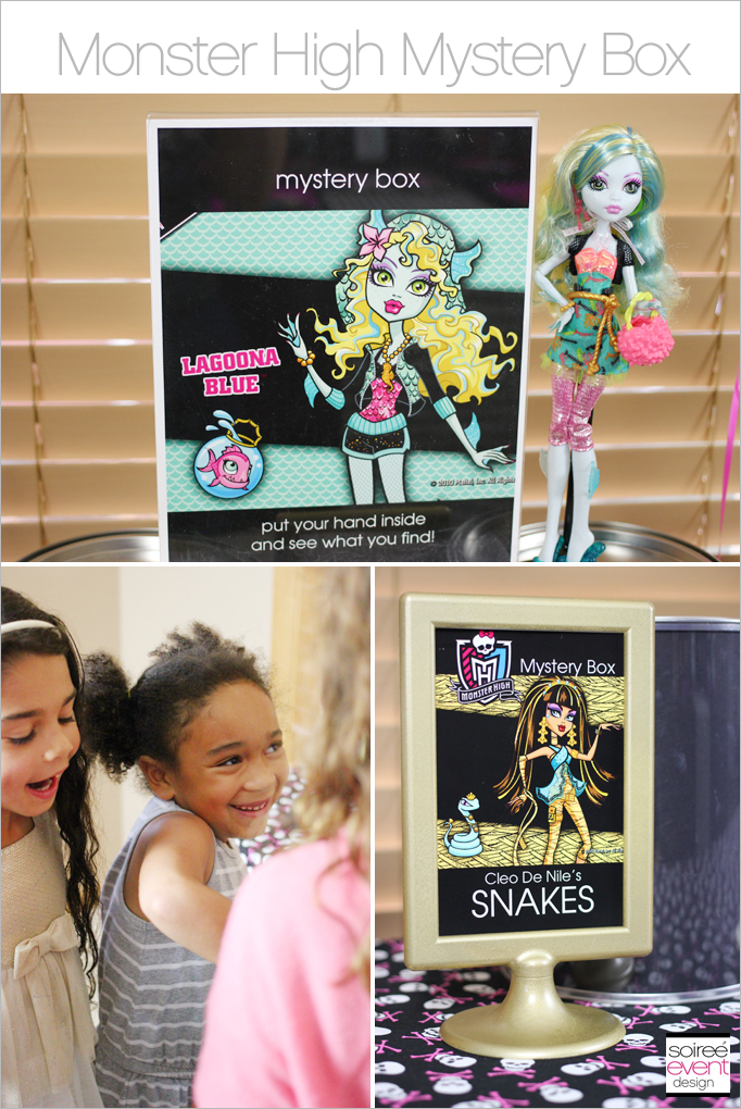 Monster High Mystery Box Main