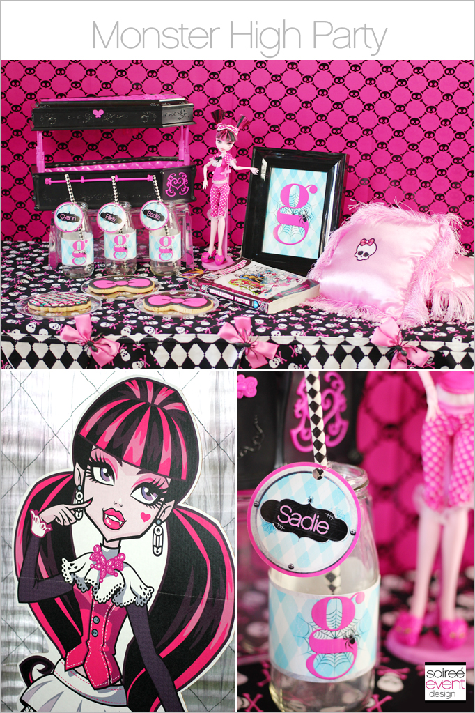 Monster High Party Main & Trend Alert: Monster High Party + Giveaway - Soiree Event Design