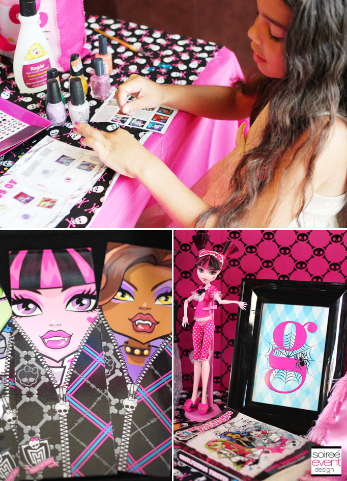 Monster High Sleepover Activity