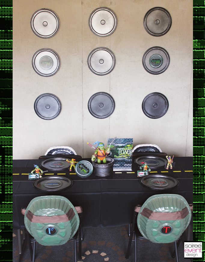 Ninja-Turtle-party-dining-table