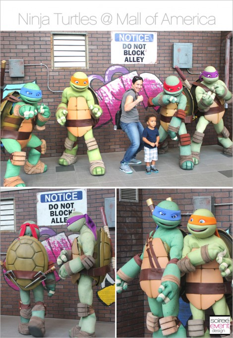 Ninja Turtles at the Mall of America