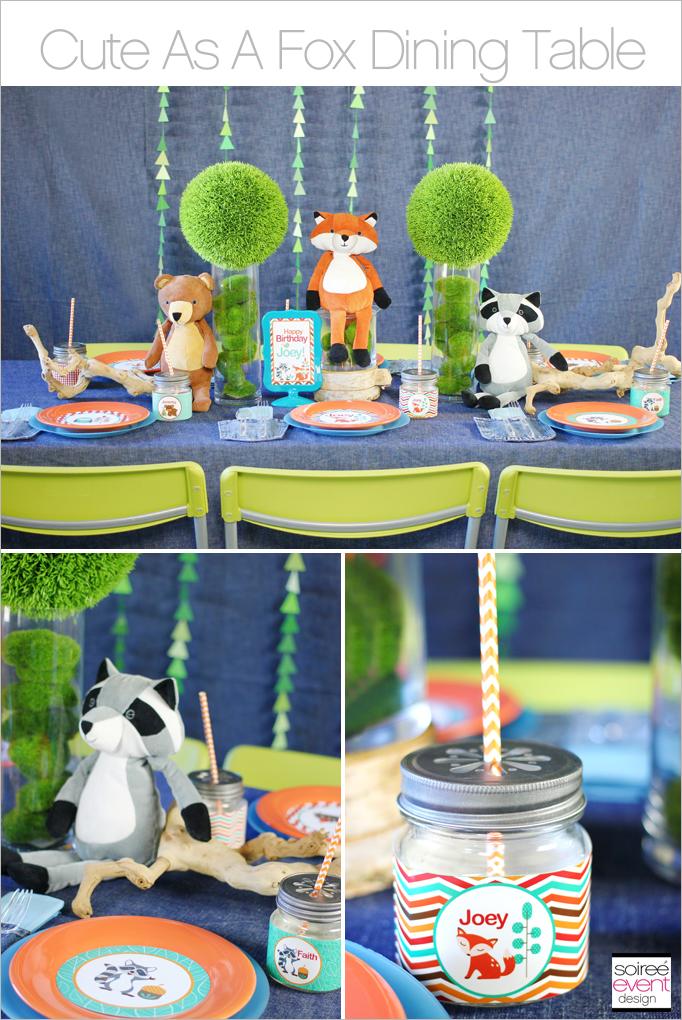 Cute As A Fox Dining Table
