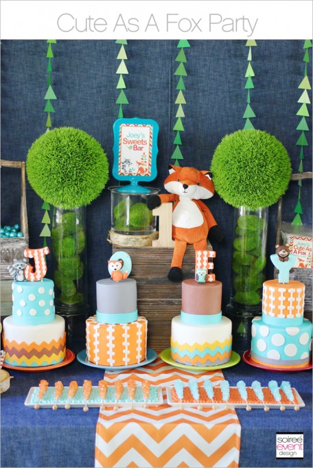 Cute As A Fox Party + GIVEAWAY