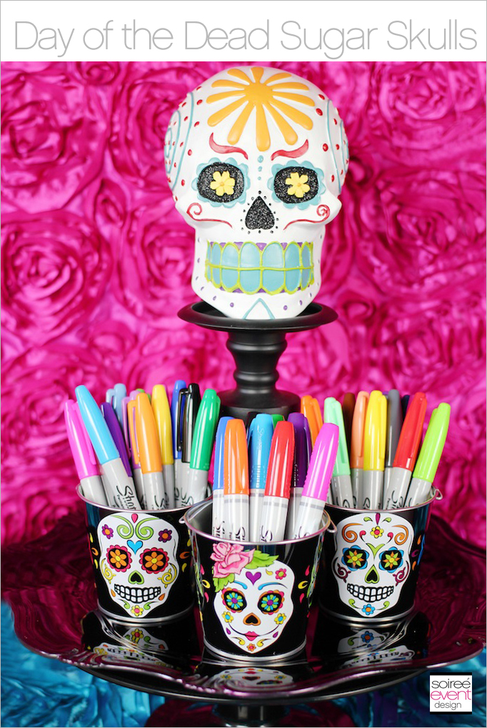 Decorate your own halloween day of the dead sugar skulls soiree event design - Sugar skull images pinterest ...