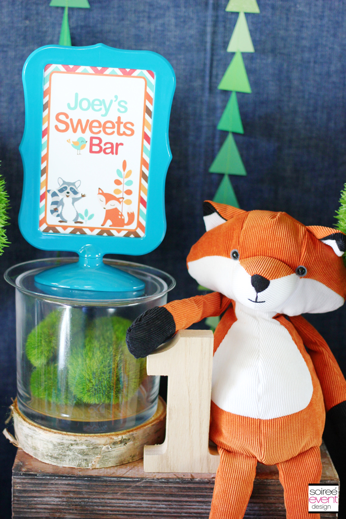 Fox Party Sweets Table