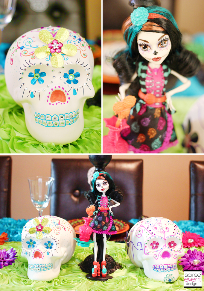 monster high skellita calaveras party