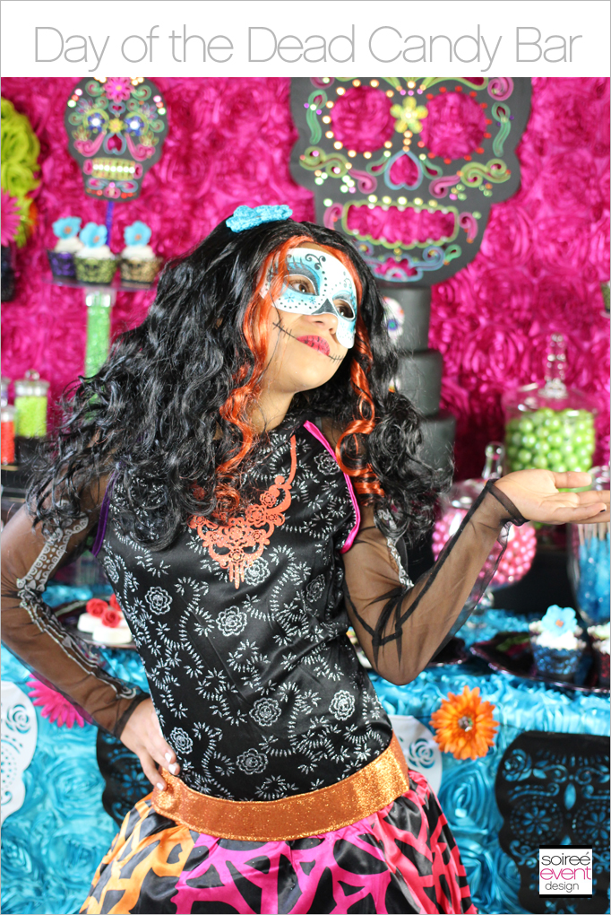 Day of the Dead Candy Bar