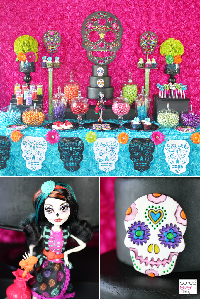 Day of the Dead Candy Buffet