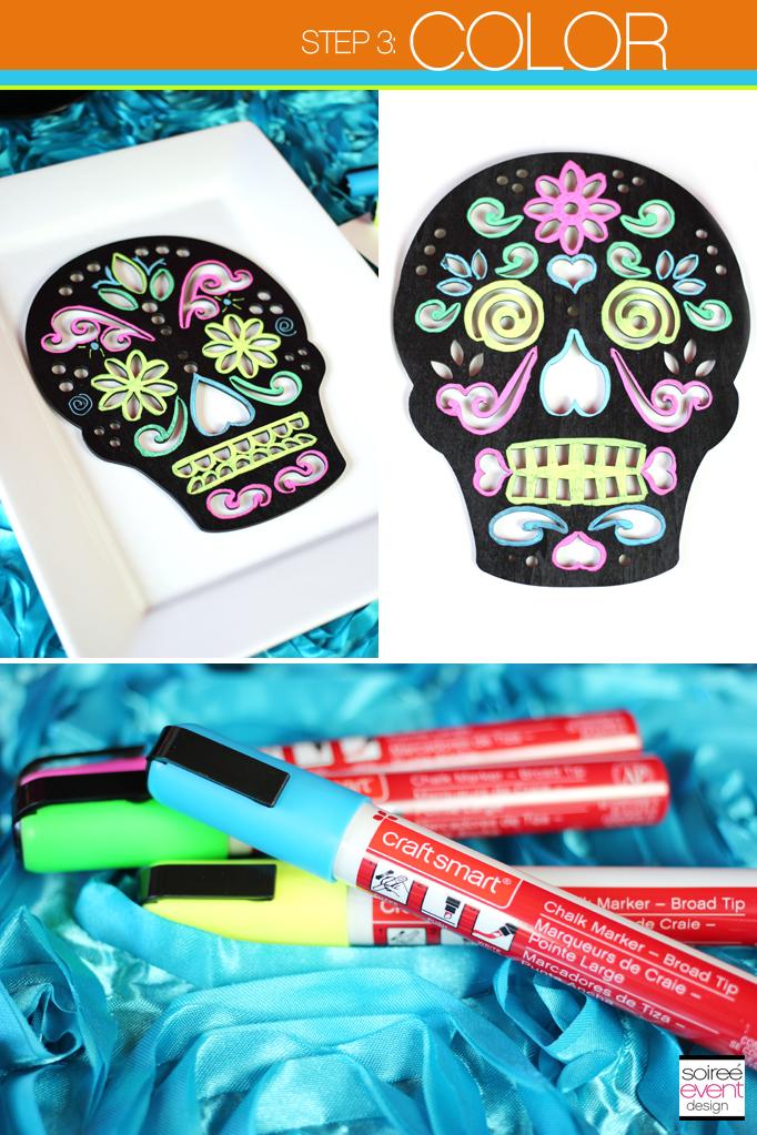 Day of the Dead Sugar Skulls DIY Color