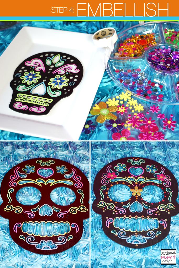 Day of the Dead Sugar Skulls DIY Embellish