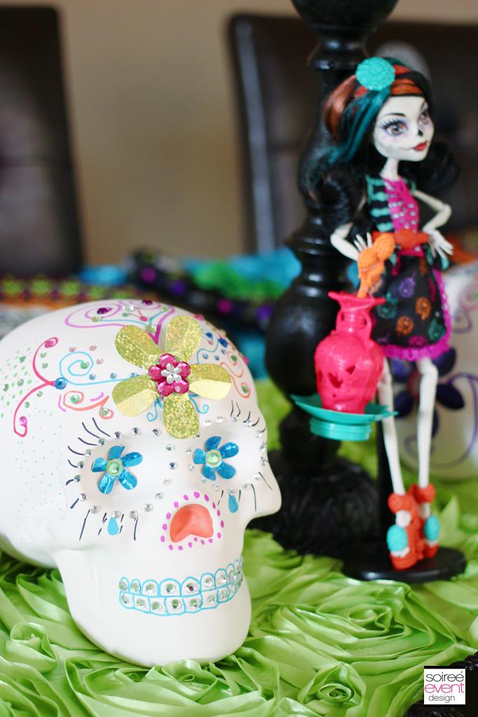 Day of the dead sugar skulls