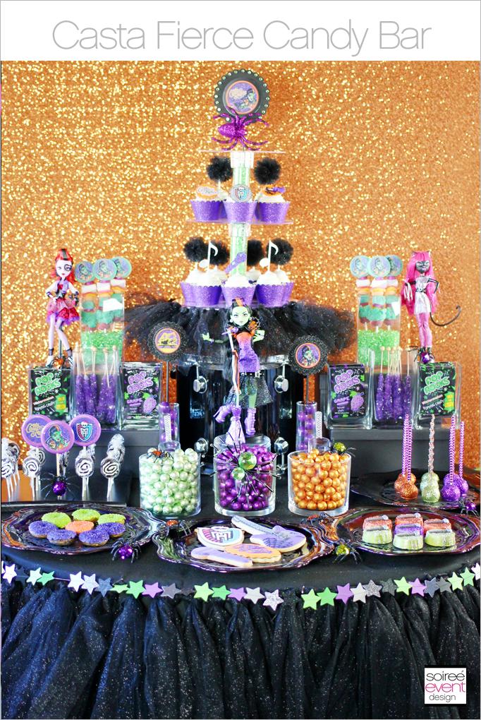 casta fierce candy buffet