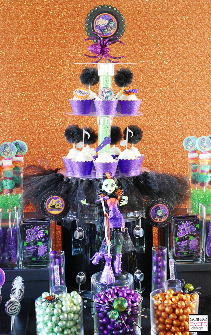 casta fierce monster high candy table