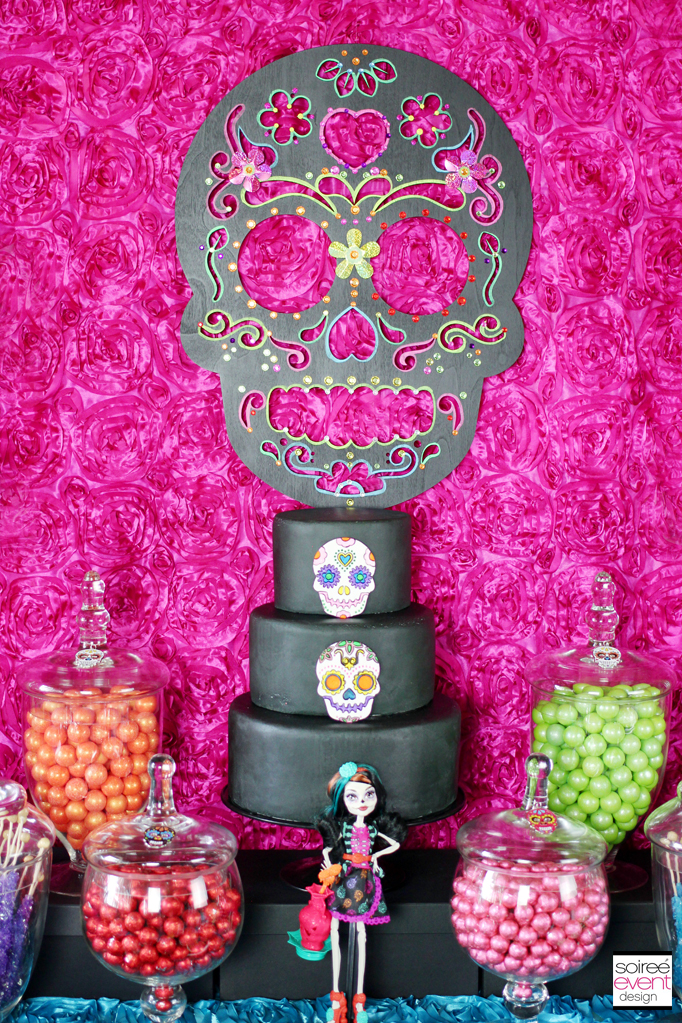 day of the dead backdrop
