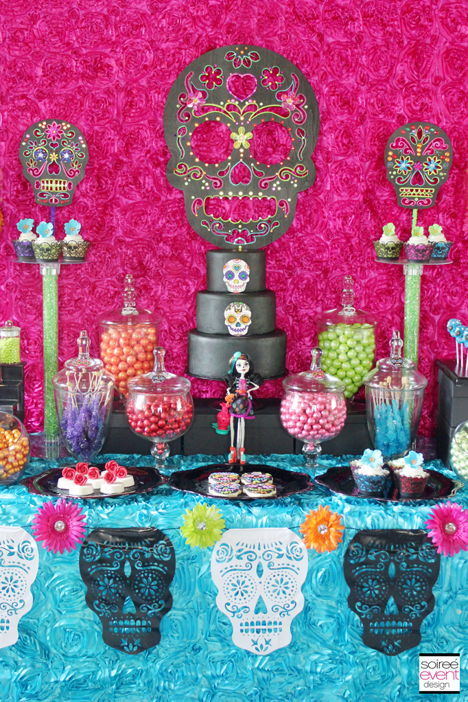 Day of the Dead Candy Buffet - Soiree Event Design