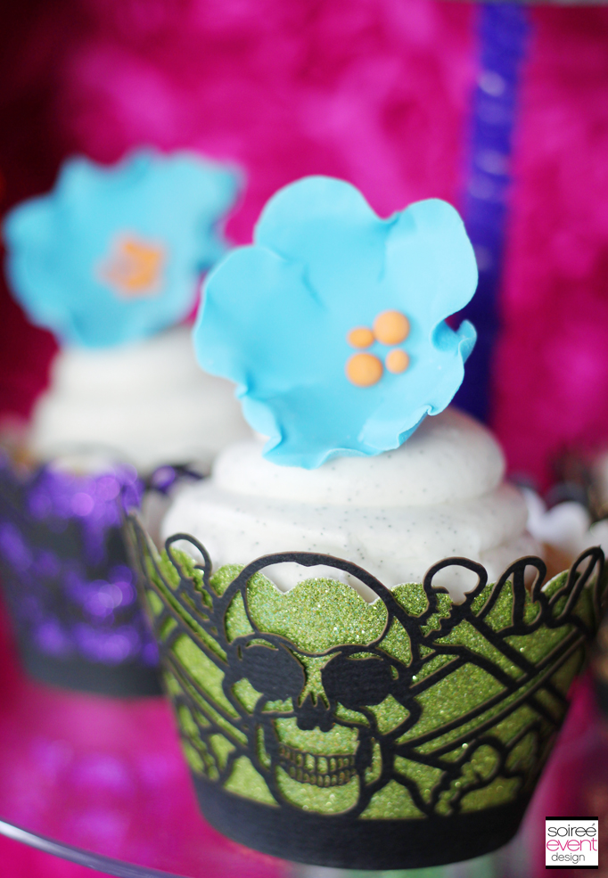 day of the dead cupcake wrappers