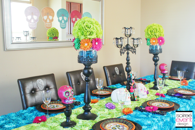 day of the dead dining table 2