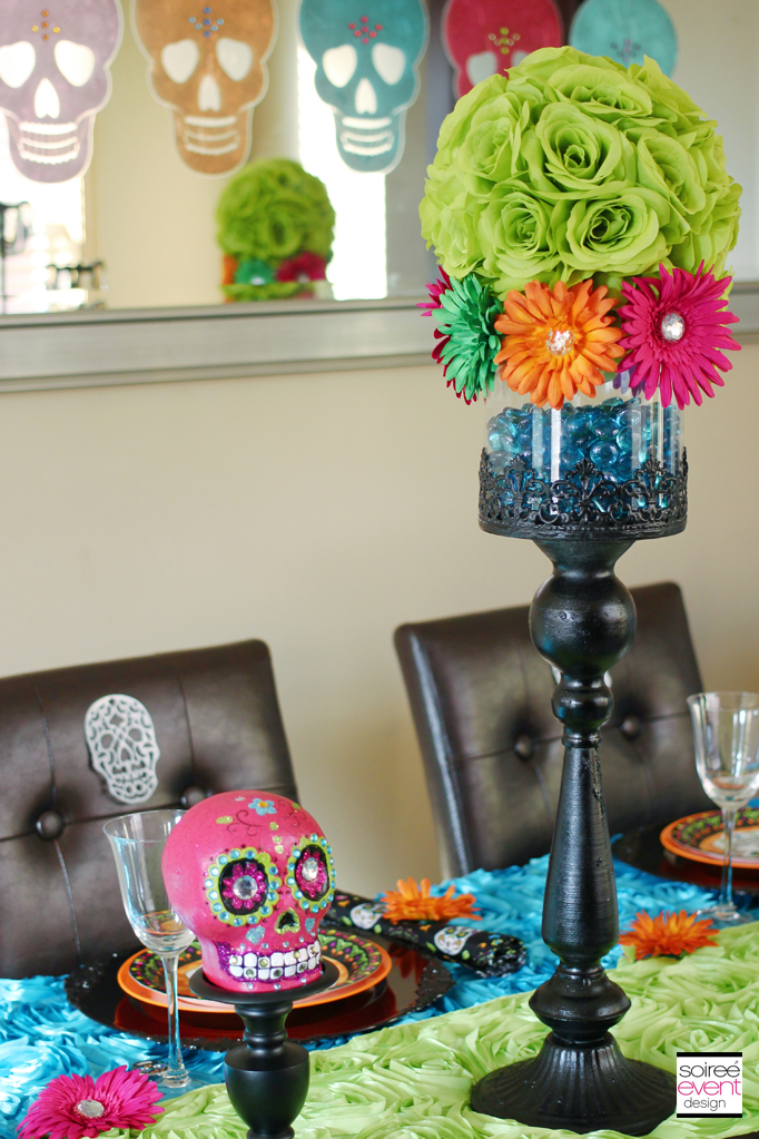 day of the dead party decorations