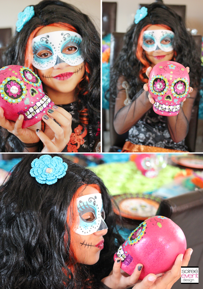 day of the dead photo props