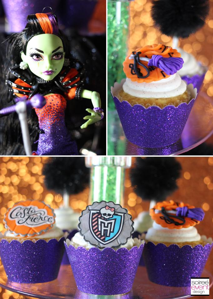 monster high casta fierce cupcakes