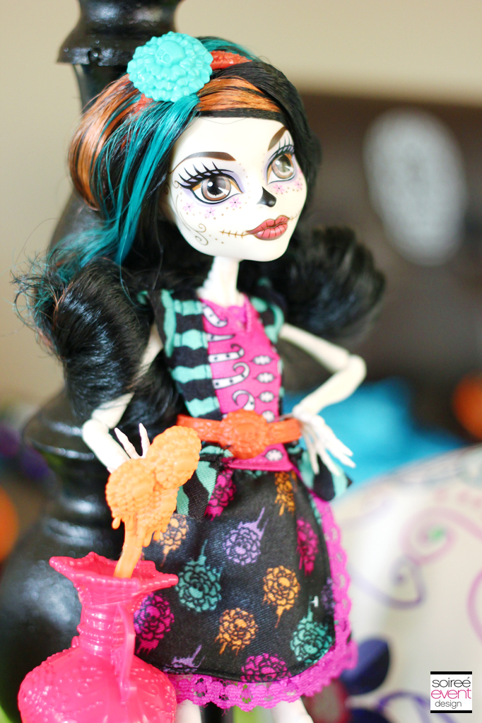 monster high day of the dead doll
