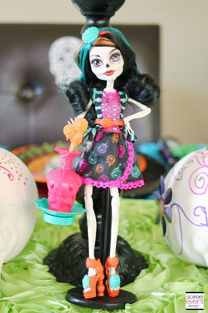 monster high skelita calaveras  sc 1 st  Soiree Event Design & Day of the Dead Party Week - Soiree Event Design