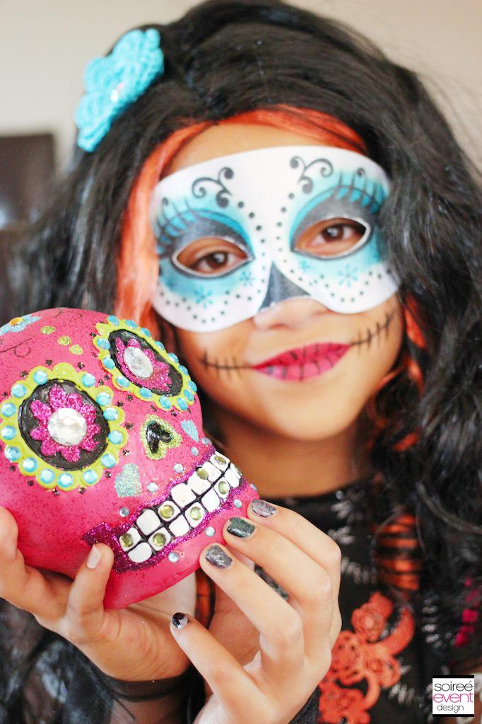 skelita calaveras day of the dead - Skelita Calaveras Halloween Costume