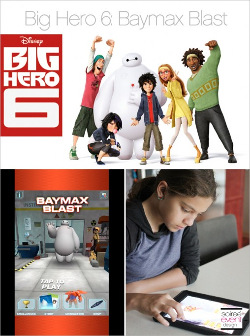 Family Movie Day Kicks off with Big Hero 6: Baymax Blast App