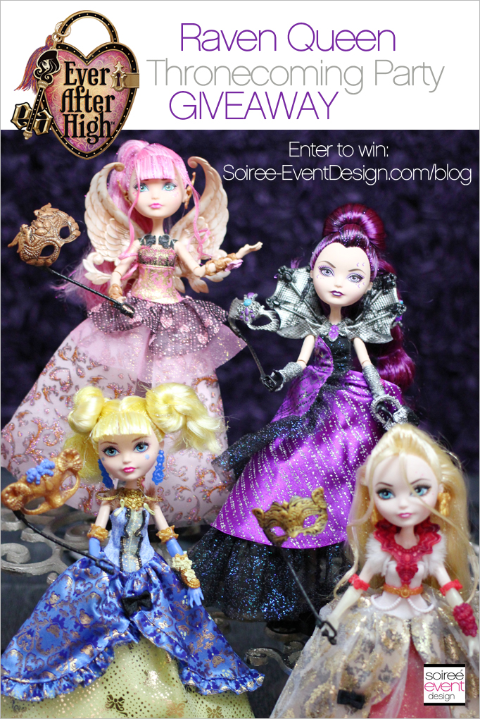 Ever After High Thronecoming Giveaway