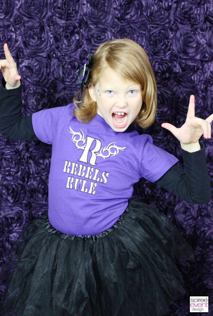 Raven Queen Rebels Rule Tshirt