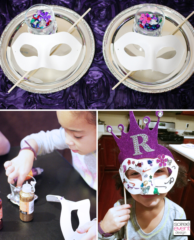 Raven Queen party crafts