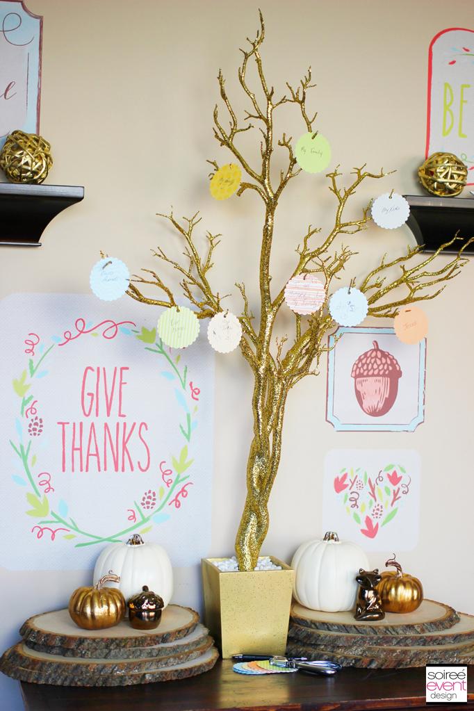 Thanksiving Tree Display 2