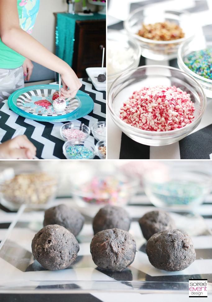 Decorate Oreo Cookie Balls