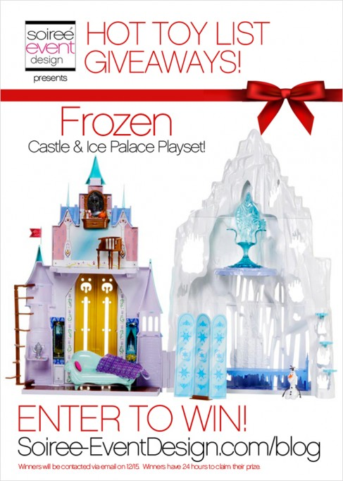 HOT Toy List Giveaways: Disney's Frozen Castle & Ice Palace Playset