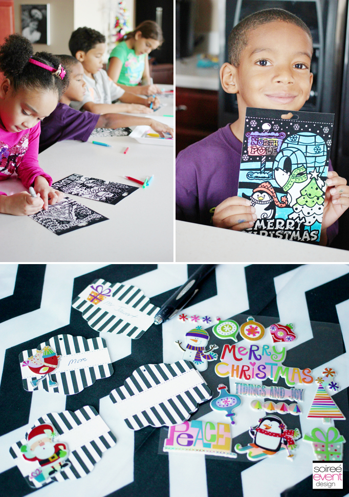 Gift tag craft
