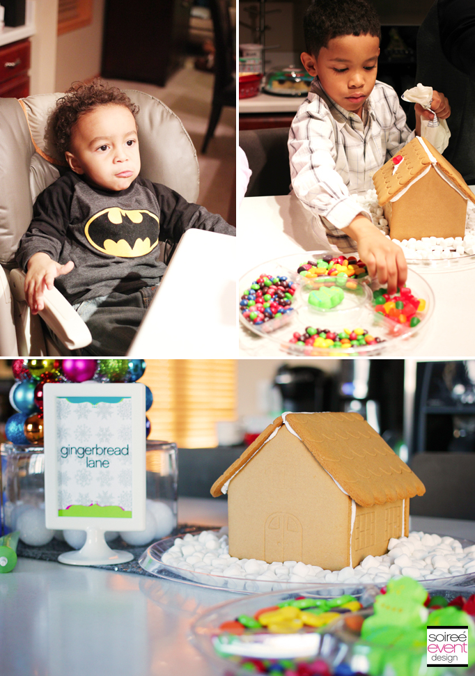Gingerbread House Decorating 1