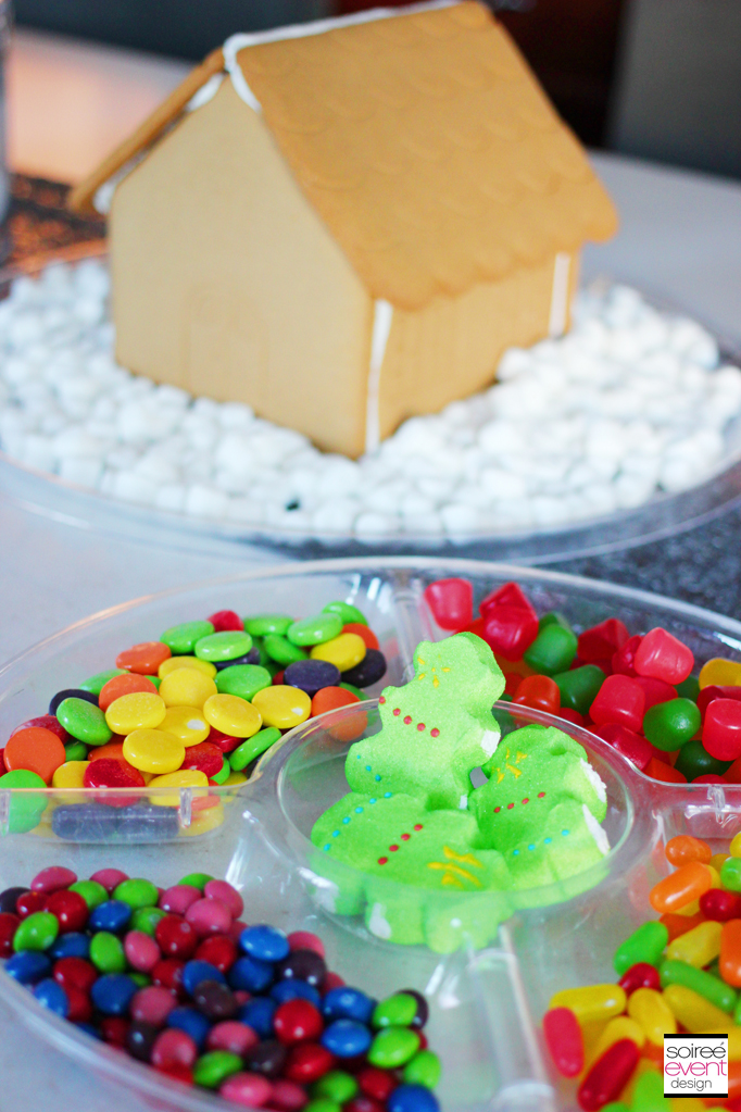 Gingerbread House Decorating Party Soiree Event Design