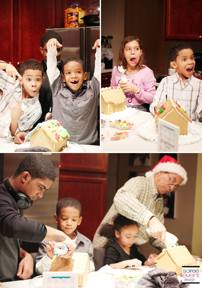 Gingerbread House Decorating Party 2