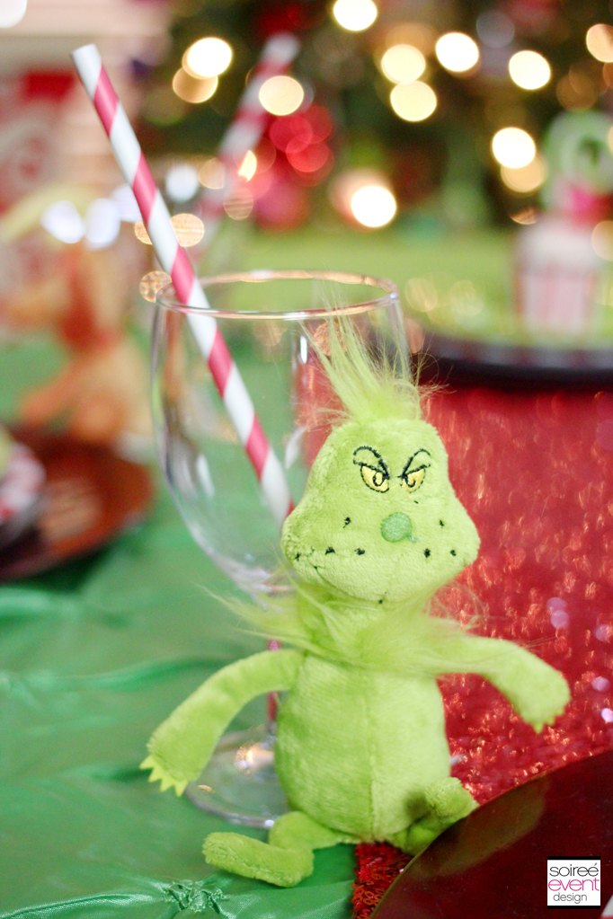 Setup A Grinch Themed Kids Table For Christmas Dinner