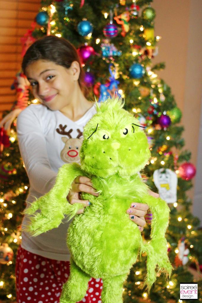 Grinch stuffed animal