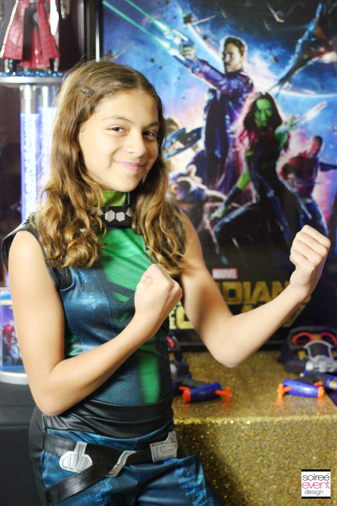 Guardians of the Galaxy Gamora costume