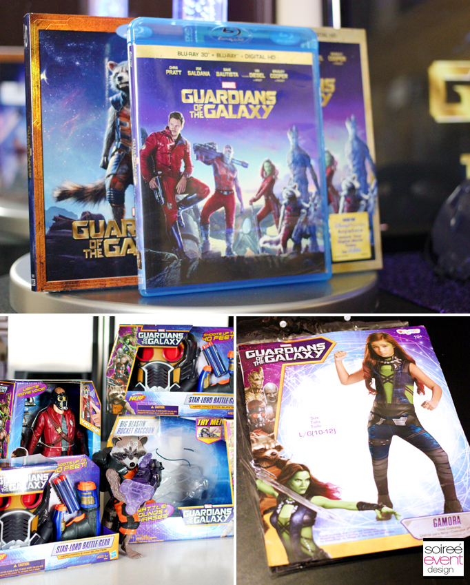Guardians of the Galaxy movie and toys