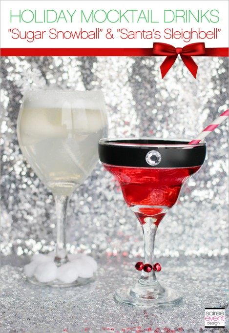 Celebrate the Holidays with 7UP® Mocktail Drinks