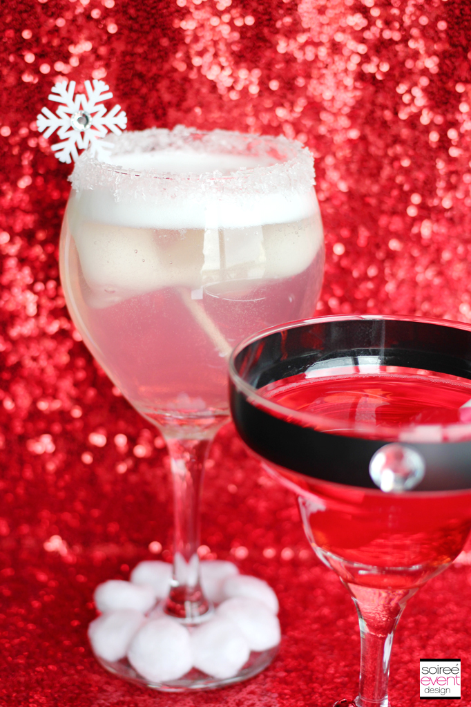 Holiday Mocktini Drink Recipes