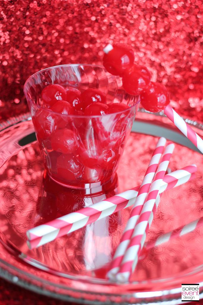 Marachino Cherry skewer
