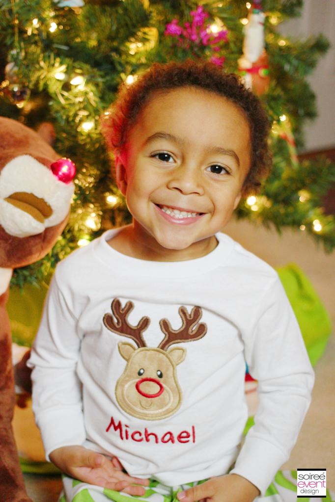 Michael Reindeer Pajamas
